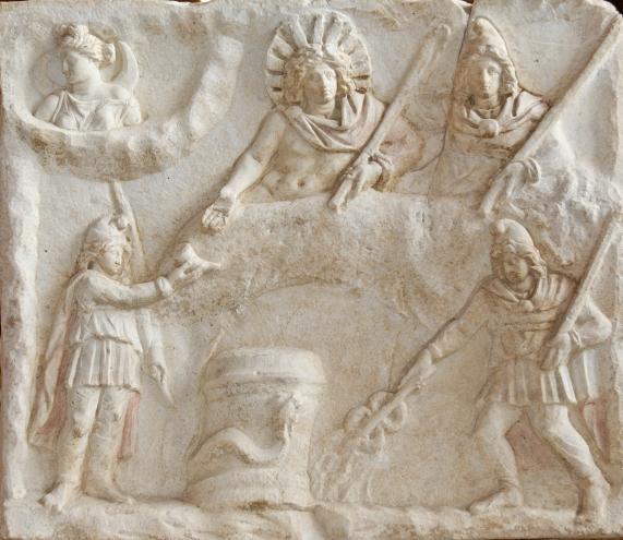 Mithras_banquet_Louvre_Ma3441
